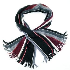 Calibrate 100% Wool Striped Scarf